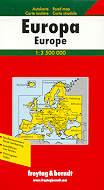mappa stradale Europa / Europe