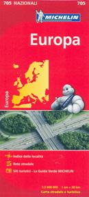 mappa n.705 Europa stradale