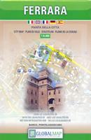 mappa di città Ferrara - mappa di città - edizione 2018