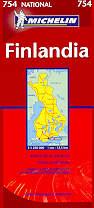 mappa stradale 754 - Finlandia
