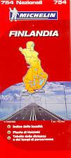 mappa stradale n.754 - Finlandia