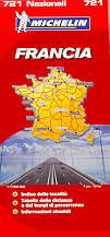 mappa stradale n.721 - Francia