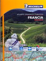 atlante Francia atlante stradale e turistico a spirale 2014