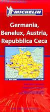 mappa stradale 719 - Germania, Benelux, Austria e Rep. Ceca