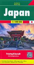 mappa Giappone / Japan con Tokyo, Yokohama, Osaka, Nagoya, Sapporo, Hokkaido, Honshu, Shikoku, Kyushu, Ryukyu, Okinawa, Bonin 2019