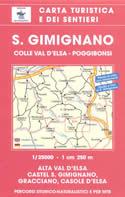 mappa n.511 S. Gimignano con Colle Val d'Elsa, Poggibonsi, Casole d'Elsa