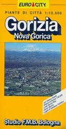mappa di città Gorizia, Nova Gorica