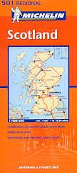 Cartina Stradale Della Scozia.Mappa Stradale N 501 Gran Bretagna Scozia Scotland Con Edinburgo E Glasgow