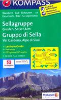 mappa Gruppo di Sella
