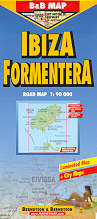 mappa stradale Ibiza / Formentera
