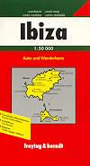 mappa stradale Ibiza e Formentera