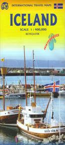 mappa stradale Islanda / Iceland - Reykjavík, Hafnarfjörður, Kópavogur, Selfoss, Keflavík, Akranes, Akureyri, Húsavík, Egilsstaðir - mappa impermeabile e antistrappo - nuova edizione