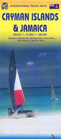 mappa Isole Cayman e Jamaica