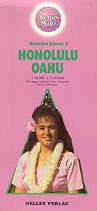 mappa stradale Isole Hawaii 2 - Honolulu-O'ahu
