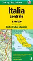 mappa stradale n.2 - Italia centrale - edizione 2008