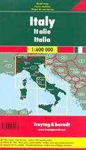 mappa stradale Italia / Italy - con mappe di città e codici postali - edizione 2020