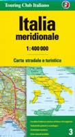 mappa stradale n.3 - Italia meridionale (senza Sicilia) - edizione 2008