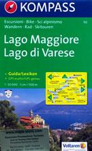 mappa n.90 Lago Maggiore, di Varese, Lugano, Verbania, Stresa, Arona, Gravellona Toce, Laveno Mombello, Luino, Cannobio, Locarno, Mendrisio, Parco Nazionale Val Grande, Malesco, Olgiate Comasco compatibile con GPS 2017