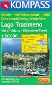 mappa 662 Lago Trasimeno, Val di Chiana, Chianciano Terme