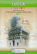 mappa Lucca città con dettaglio del storico