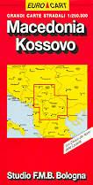 mappa Macedonia, Kossovo