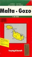 mappa stradale Malta - Gozo
