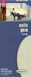 mappa Malta, Gozo e Comino