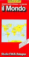 mappa stradale Il Mondo (planisfero) - edizione 2013