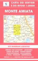 mappa n.41 Monte Amiata con siti minerari, Abbadia S.Salvatore, Arcidosso, Castel del Piano, Castell'Azzara, Piancastagnaio, Roccalbenga, S.Fiora, Seggiano, Semproniano