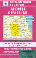 mappa n.60/61 Monti Sibillini Norcia, Arquata del Tronto, M. Vettore, Bolognola, Fiastra, Visso, Priora