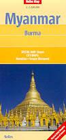 mappa Myanmar / Burma (Birmania) 2014