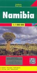 mappa Namibia 2016