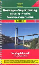 atlante stradale Norvegia - Atlante Stradale a Spirale - nuova edizione