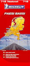 mappa stradale n.715 - Paesi Bassi / Olanda - con Amsterdam, Rotterdam, Den Haag