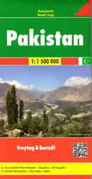 mappa Pakistan con Karachi, Lahore, Faisalabad, Rawalpindi, Multan, Hyderabad, Gujranwala, Peshawar, Quetta, Islamabad 2019