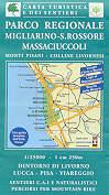 mappa n.503 Parco Regionale, Migliarino S. Rossore e Massaciuccoli monti pisani colline livornesi