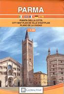 mappa Parma città con indice strade 2021