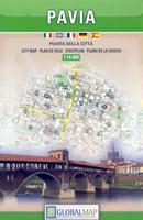 mappa Pavia di città 2018