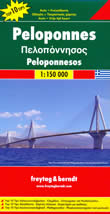 mappa Peloponneso