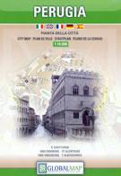 mappa Perugia città con dettaglio del storico