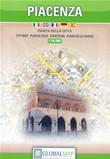 mappa di città Piacenza - mappa di città - edizione 2018