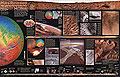 mappa Il Pianeta Rosso - Marte / Mars, The Red Planet