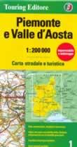 mappa Piemonte e Valle d'Aosta