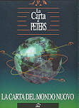 mappa Planisfero Politico di Peters - La Carta del Mondo di Peters - Con la proiezione corretta del globo terrestre