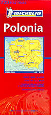 mappa stradale 720 - Polonia