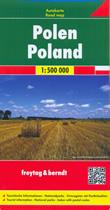 mappa Polonia / Poland Polska con Varsavia (Warszawa), Cracovia (Kraków), Łódź, Breslavia (Wrocław), Poznań, Danzica (Gdańsk), Stettino (Szczecin), Bydgoszcz, Lublino (Lublin), Katowice, Białystok, Gdynia, Częstochowa, Radom, Sosnowiec, Kielce, Toruń, Gliwice, Zabrze, Bytom 2020