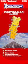 mappa stradale n.733 - Portogallo e Madera/Madeira