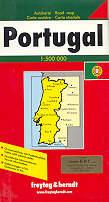 mappa stradale Portogallo / Portugal
