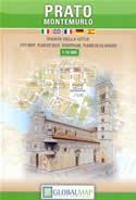 mappa di città Prato e Montemurlo - edizione 2018