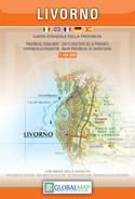 mappa Provincia di Livorno con Montenero, Calafuria, Quercianella, Monti Livornesi, Lago Santa Luce, Castiglioncello, Cecina, Piombino, Follonica, Isola d'Elba, Gorgona, Capraia, Pianosa, Montecristo